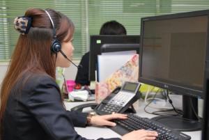 電話を通して、お客様のご要望を想像し、出来るだけ応えることが出来るのかに注力しているとのこと。