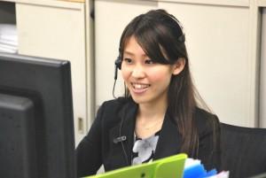 コールセンターコンシェルジュの岡本真依さんです!